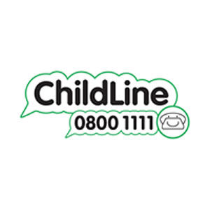Childline childrens charity logo
